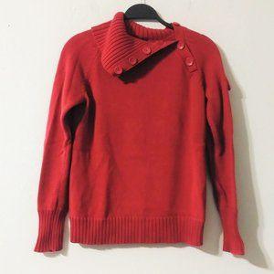 Calvin Klein Jean Vintage Red Knit Sweater